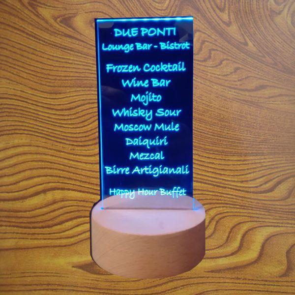 plexiglass led