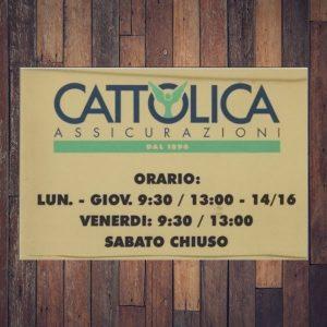 targa ottone lucido cattolica