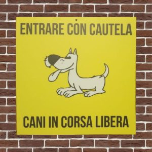 cartello in forex il parco cani