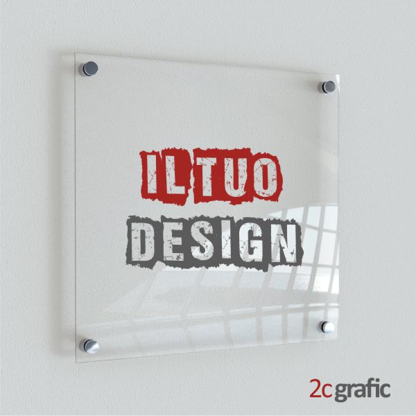 stampa su plexiglass