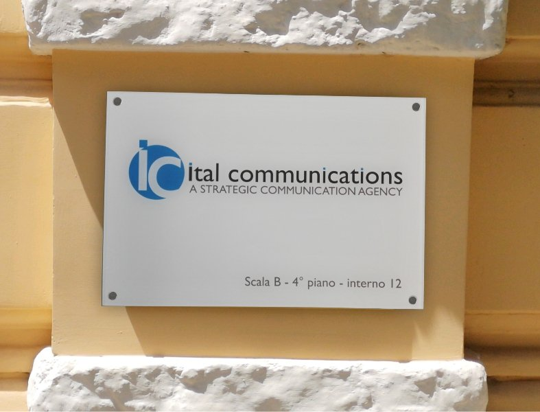 targa plexiglass ital communications